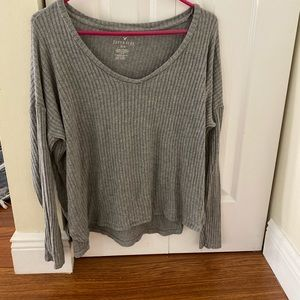 American eagle ribbed tee, gently used